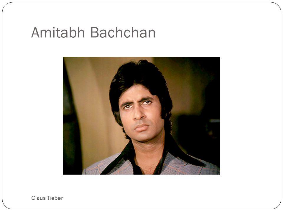 Amitabh Bachchan Claus Tieber