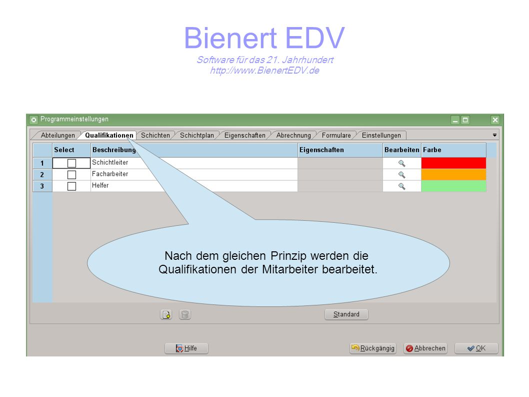 Bienert EDV Software für das 21. Jahrhundert http://www.BienertEDV.de Adressdaten anlegen.