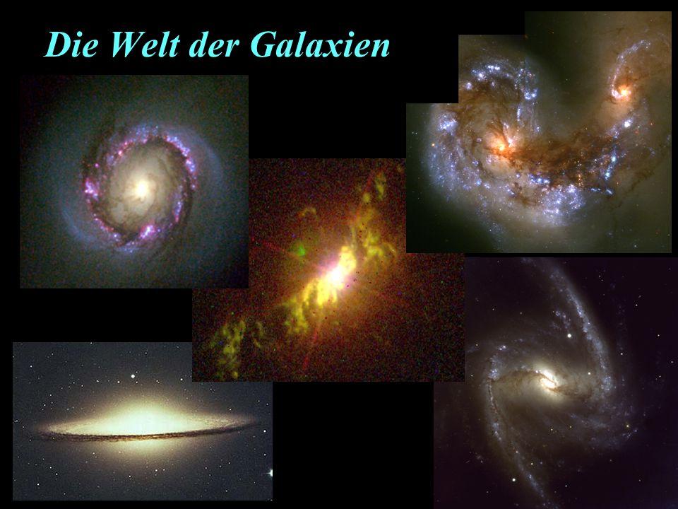 Die Welt der Galaxien
