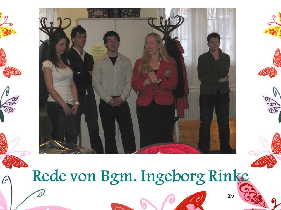 25 Rede von Bgm. Ingeborg Rinke