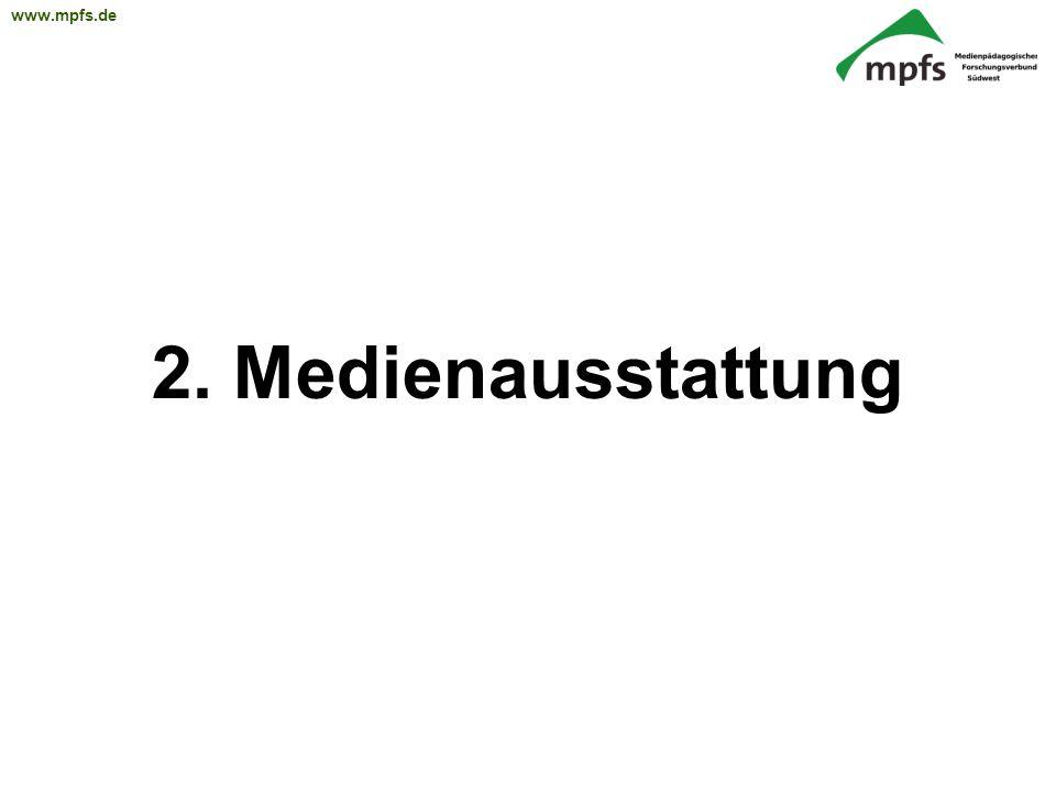 2. Medienausstattung
