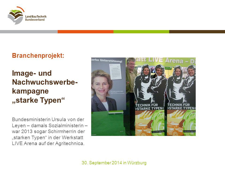 """Image- und Nachwuchswerbekampagne """"starke Typen : Finanzierung durch neue und alte Sponsoren 30."""