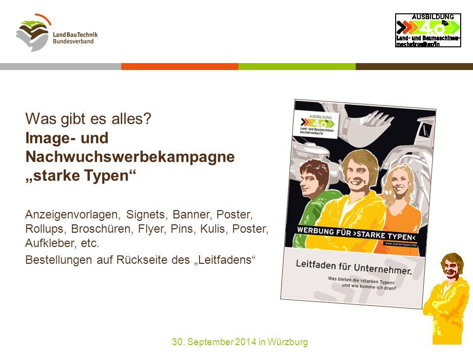 """Wie komme ich dran.Image- und Nachwuchswerbekampagne """"starke Typen 1."""