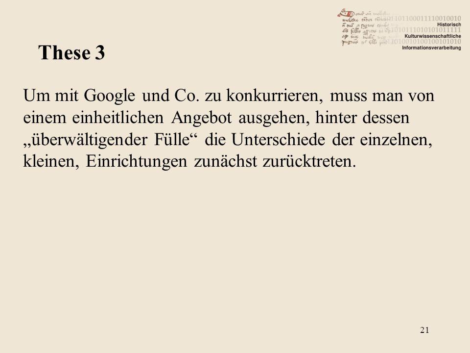 Um mit Google und Co.
