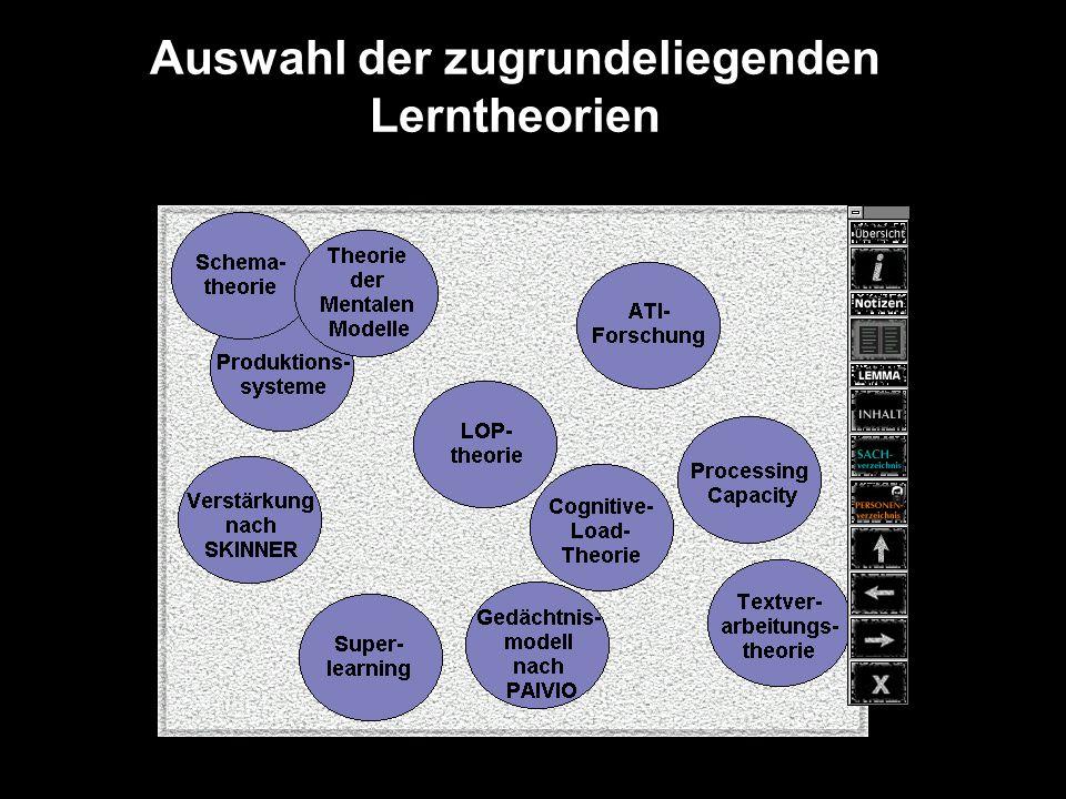 Lernziele Lernzieltaxonomie nach BLOOM Pragmatischer Lernzielkatalog (z.B.