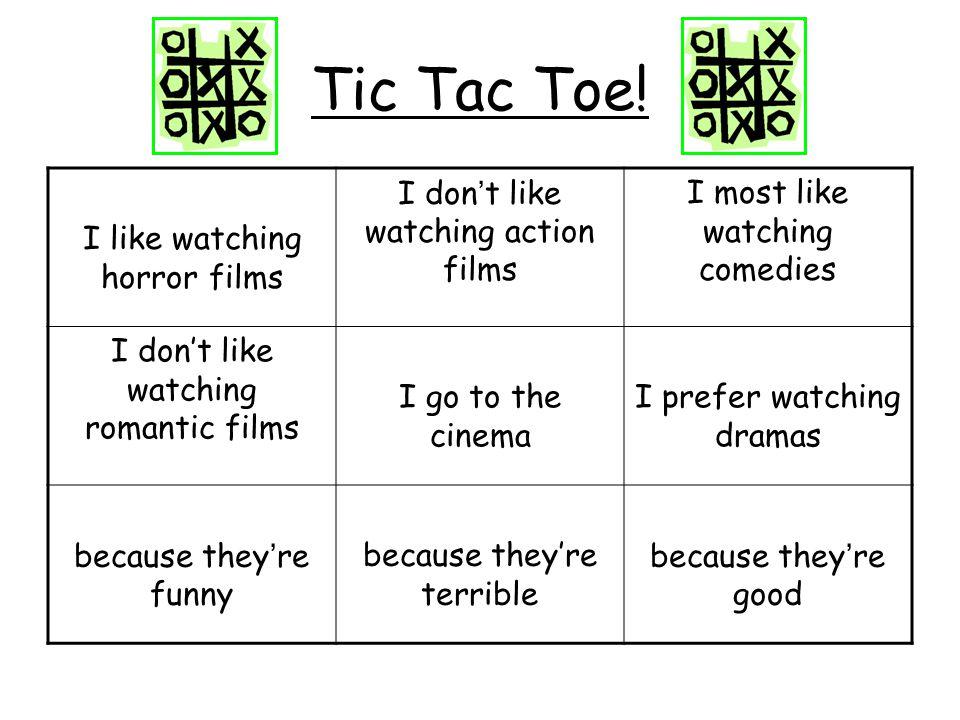 Verbindet die Sätze 1.Ich sehe gern Horrorfilme.Sie sind cool.
