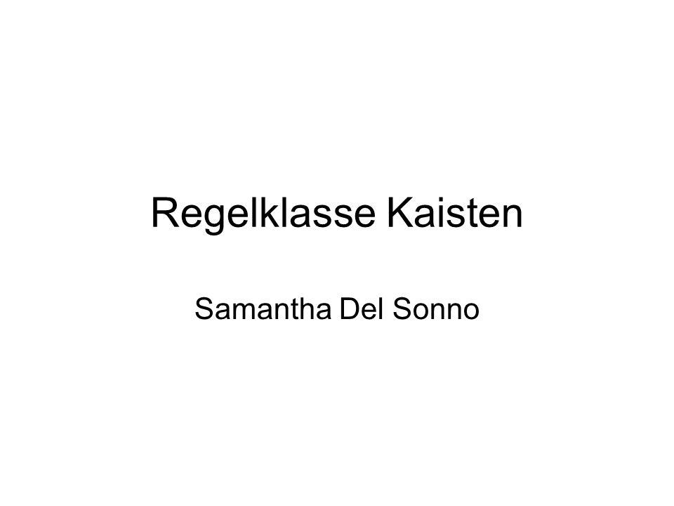 Regelklasse Kaisten Samantha Del Sonno