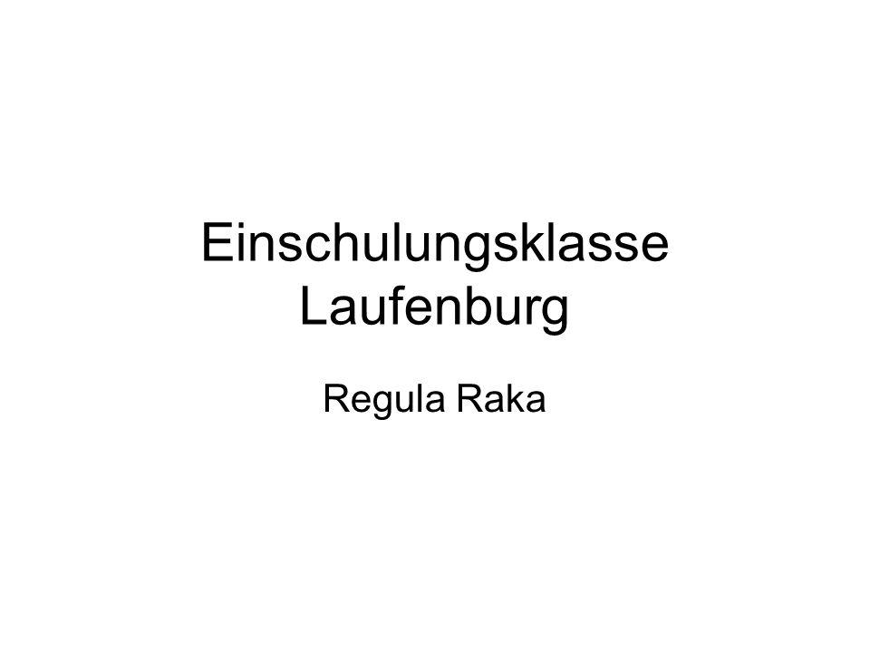 Einschulungsklasse Laufenburg Regula Raka