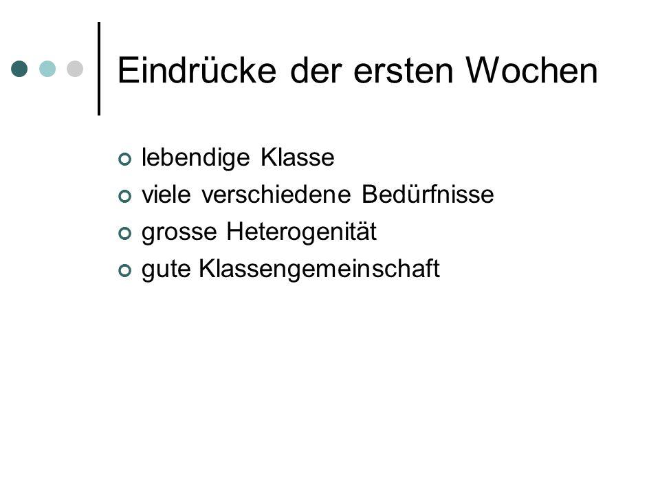 Sprache - Lernziele schriftlich kennt alle Buchstaben und kann sie richtig schreiben kann Wörter lautgetreu schreiben kann einfache Sätze und kurze Geschichten schreiben mündlich kann Erlebnisse und Beobachtungen verständlich erzählen hat einen guten deutschen Wortschatz kann Geschichten logisch und verständlich erfinden und erzählen