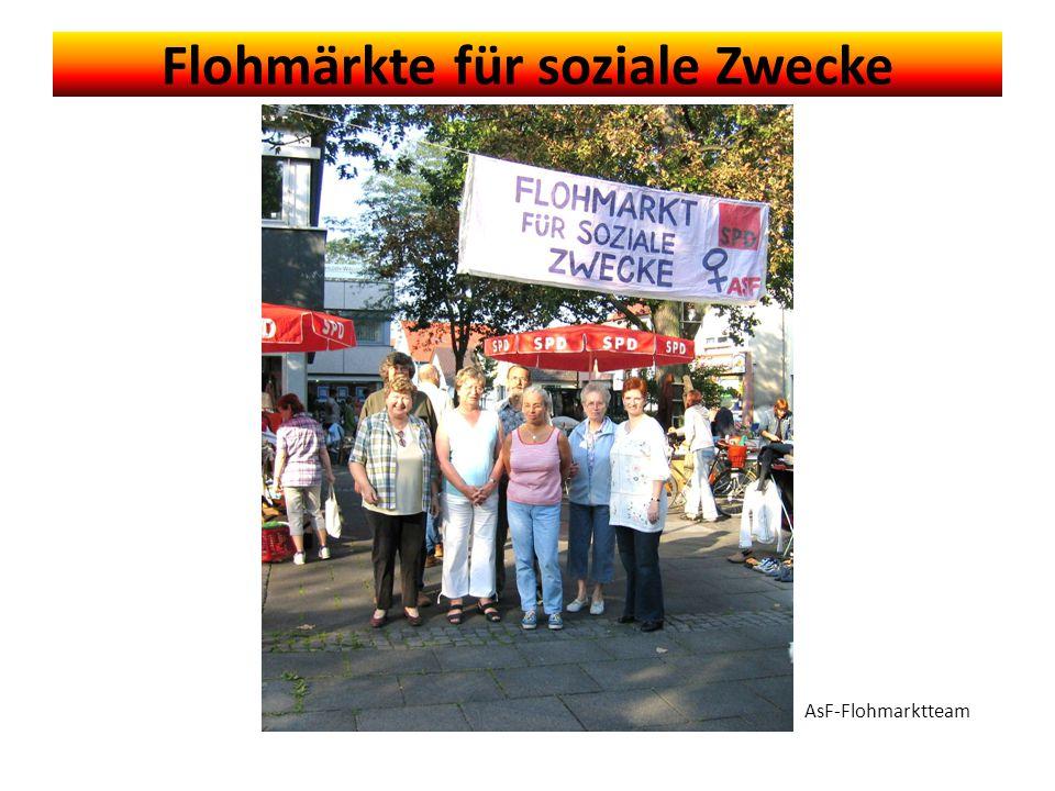 Flohmärkte für soziale Zwecke AsF-Flohmarktteam
