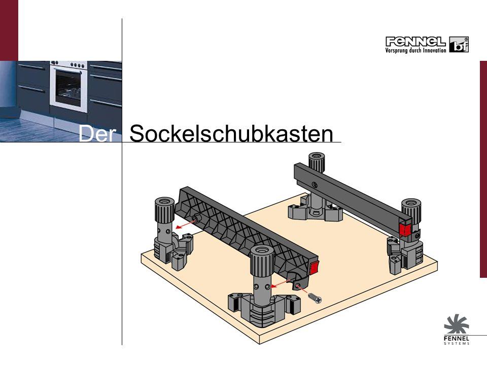 Der Sockelschubkasten