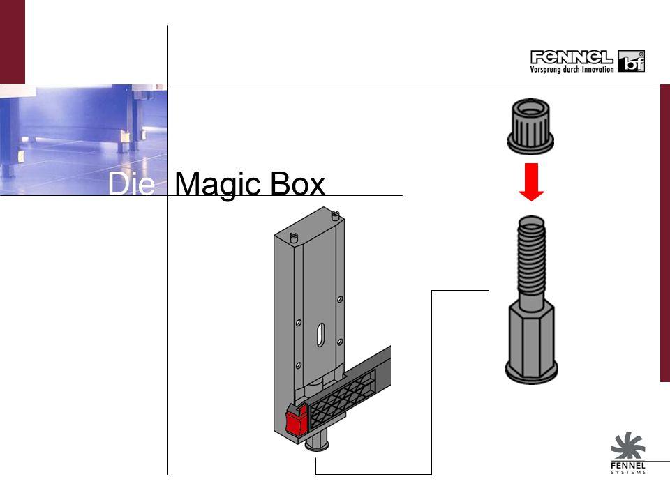 Magic Box für Herdschränke Auf Anfrage Einsatz von flachen und tiefen Schubkästen möglich