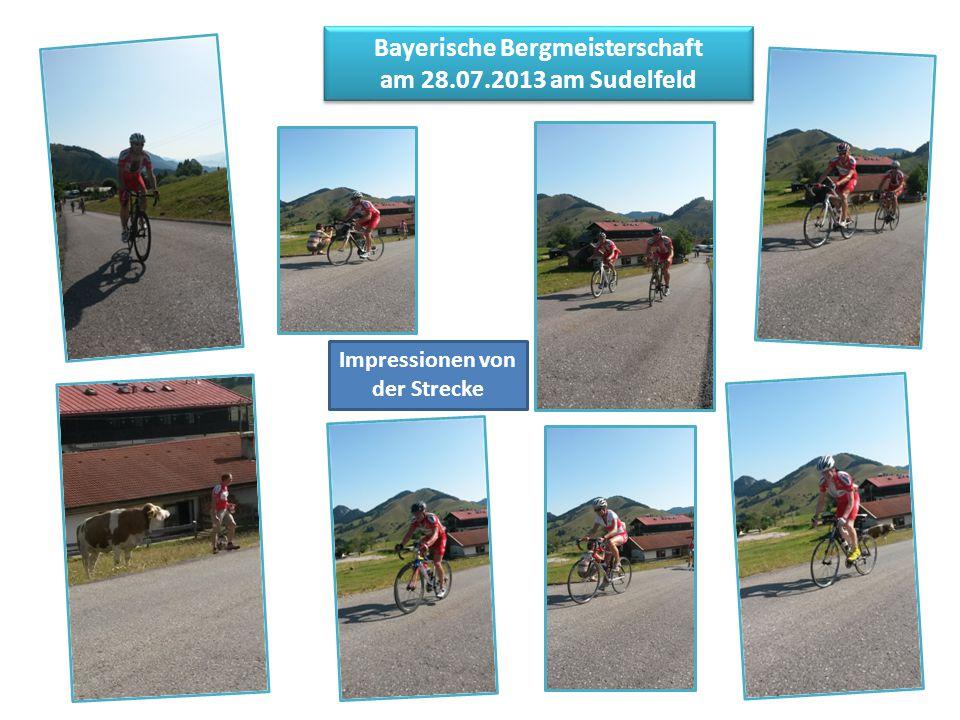 Bayerische Bergmeisterschaft am 28.07.2013 am Sudelfeld Impressionen von der Strecke