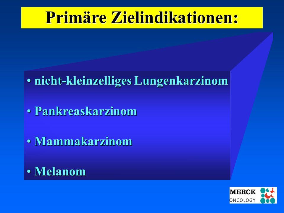 03.05.2001 17.00 Uhr s.t. Potsdam: 16.06.2001 GEHE Primäre Zielindikationen: nicht-kleinzelliges Lungenkarzinom nicht-kleinzelliges Lungenkarzinom Pan