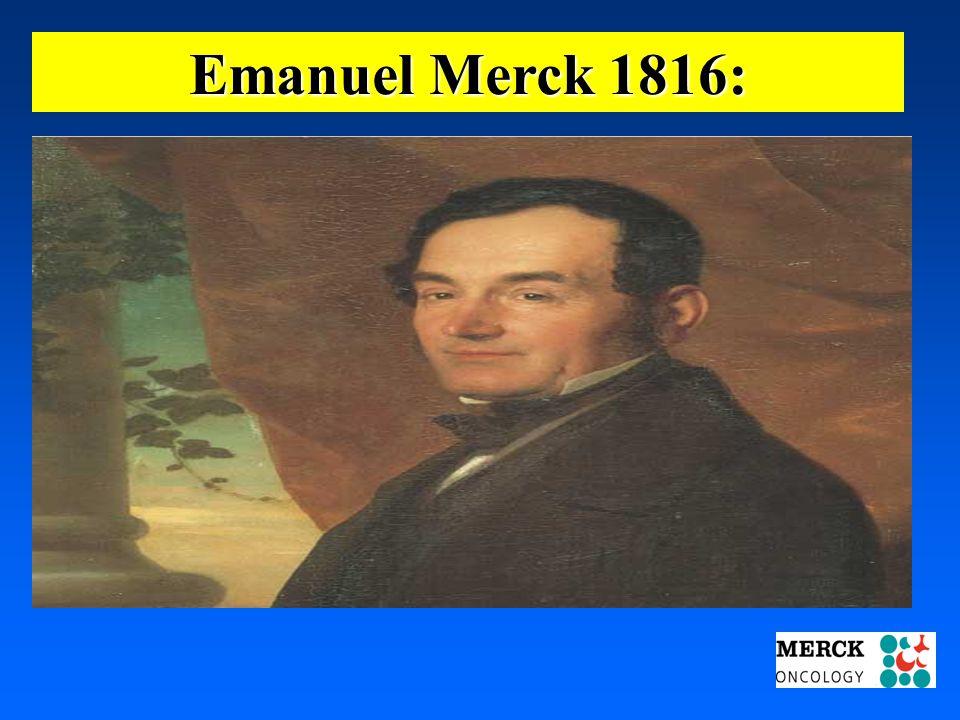 03.05.2001 17.00 Uhr s.t. Potsdam: 16.06.2001 GEHE Emanuel Merck 1816: