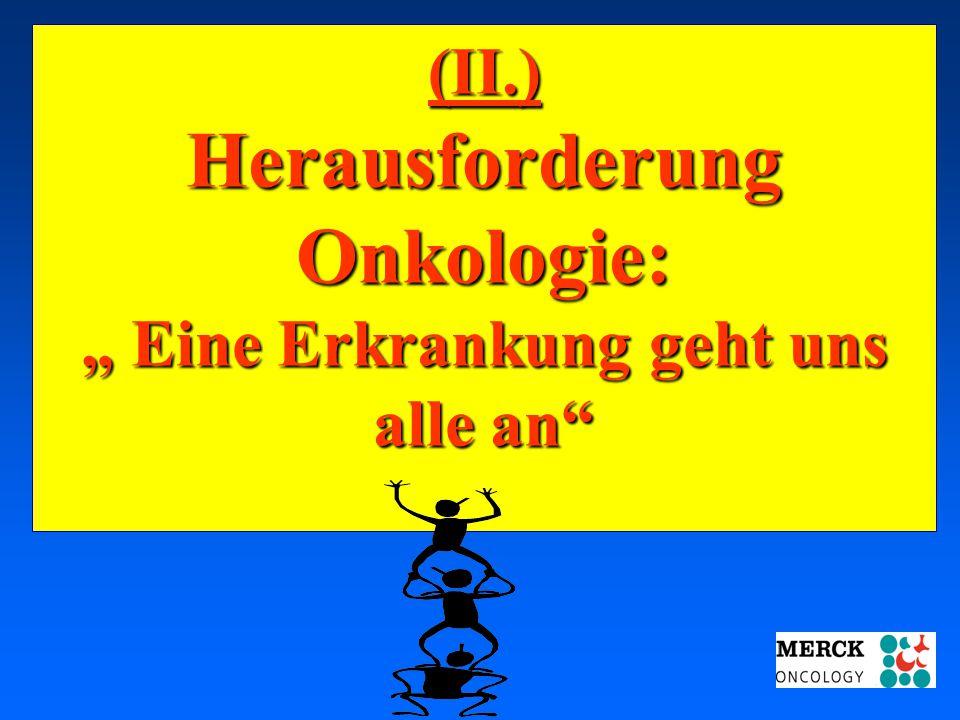 """03.05.2001 17.00 Uhr s.t. Potsdam: 16.06.2001 GEHE (II.) Herausforderung Onkologie: """" Eine Erkrankung geht uns alle an"""""""