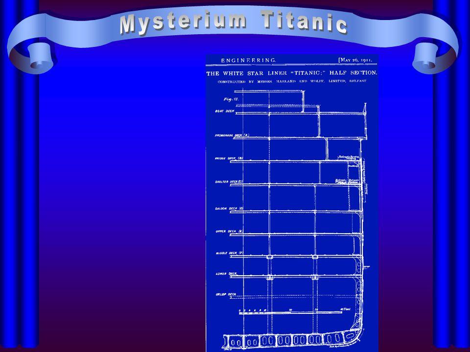 """Blick unter die """"Titanic Im Dock"""