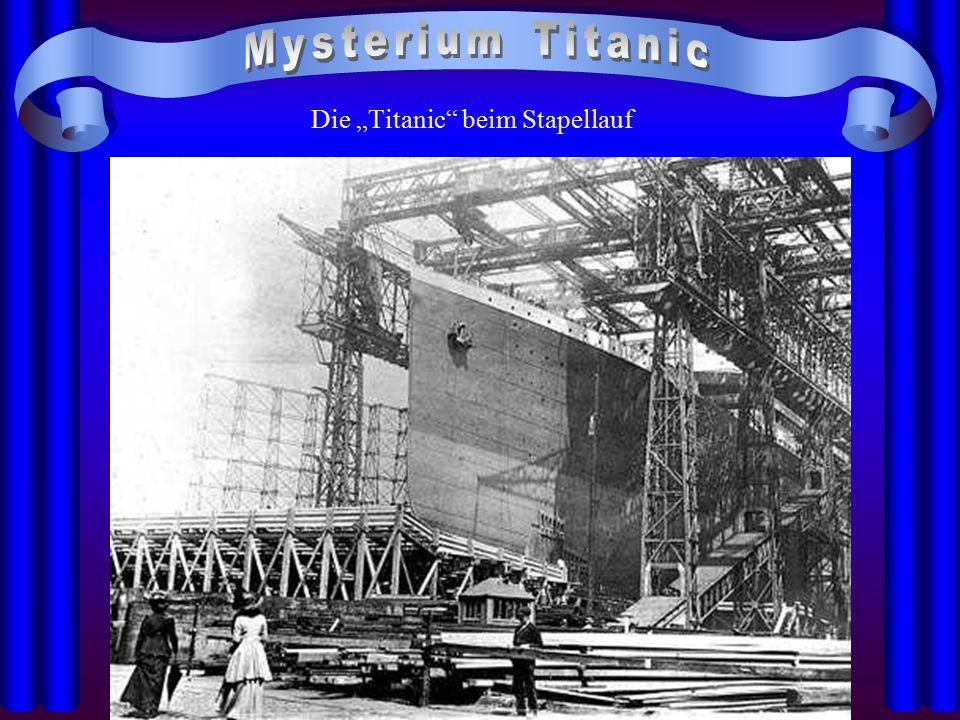 """Die """"Titanic"""" beim Stapellauf"""