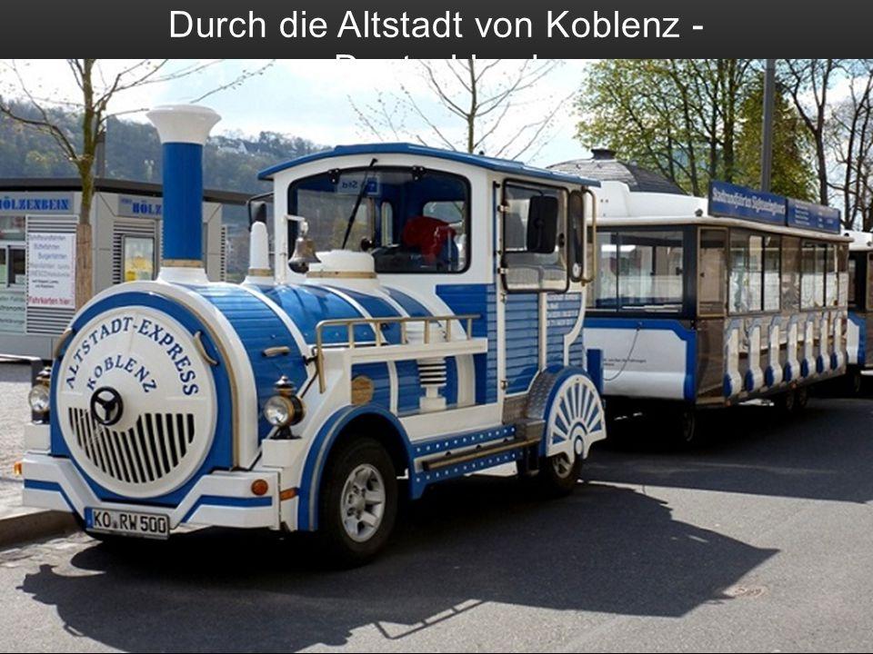 Stadtrundfahrt in Saarburg - Deutschland