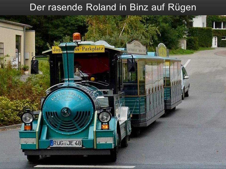 Der rasende Roland in Binz auf Rügen