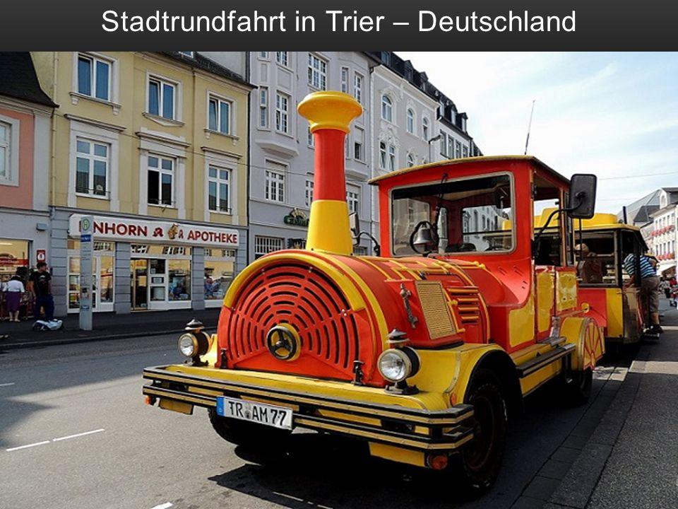 Stadtrundfahrt in Trier – Deutschland