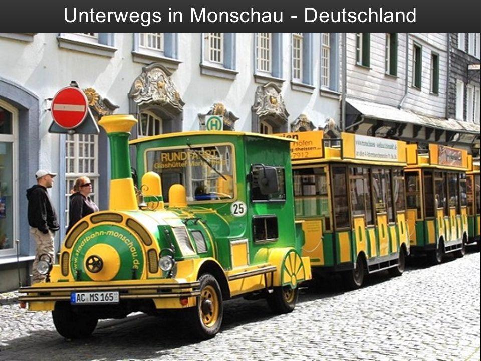 Unterwegs in Monschau - Deutschland