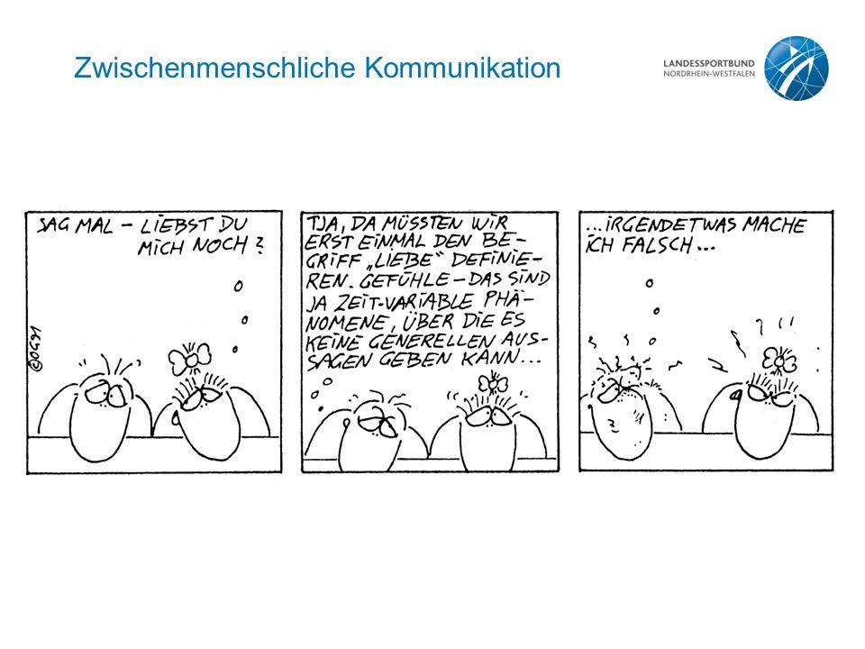Zwischenmenschliche Kommunikation