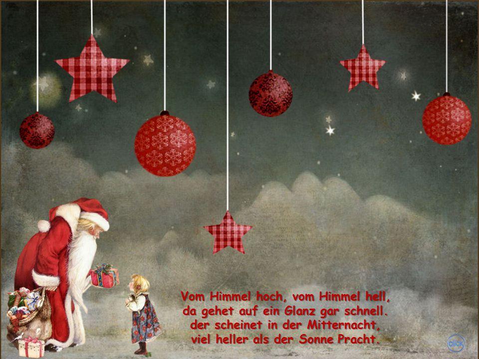Das Christuskind in einem Stall und ist doch von den Kindern all kein andres diesem einem gleicht auf Erden und im Himmelreich.