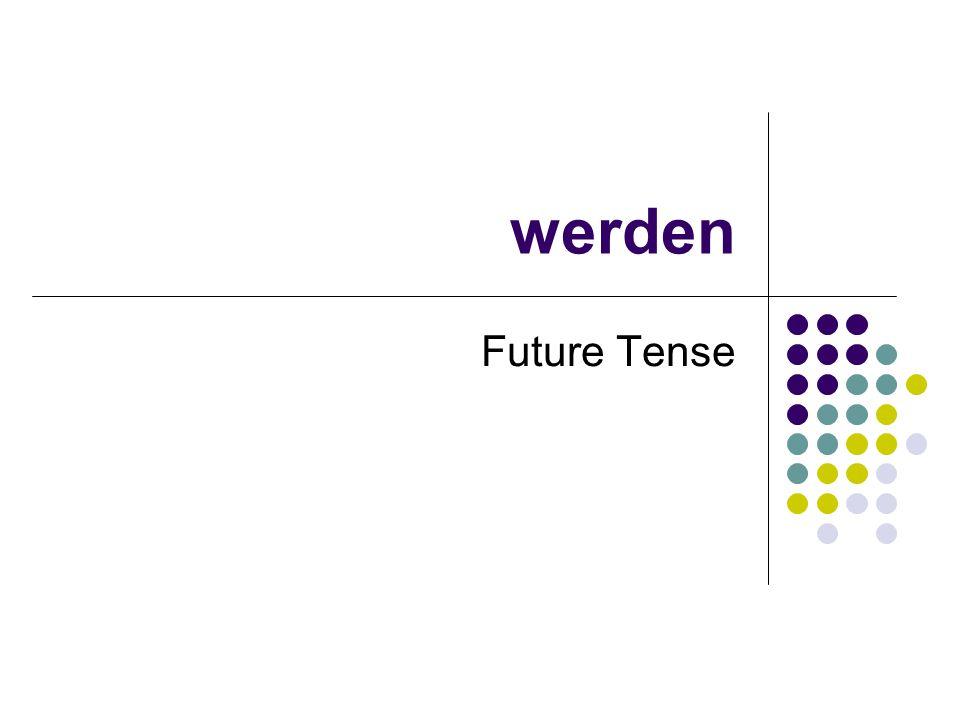 werden Future Tense
