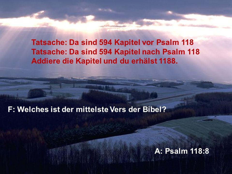 Sagt dieser Vers etwas bedeutungsvolles über Gottes Willen für unser Leben?
