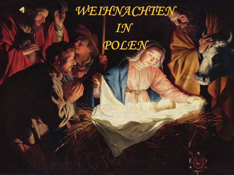 In Polen trifft sich zu dieser Zeit die ganze Familie am Tisch.