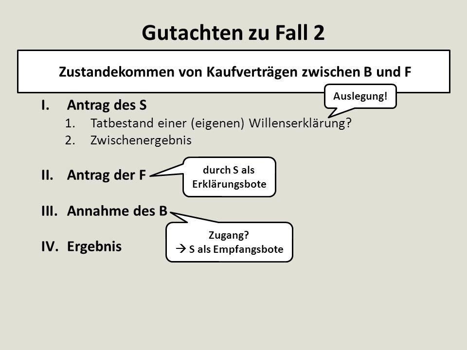 Vollmacht (§ 167 I Alt.