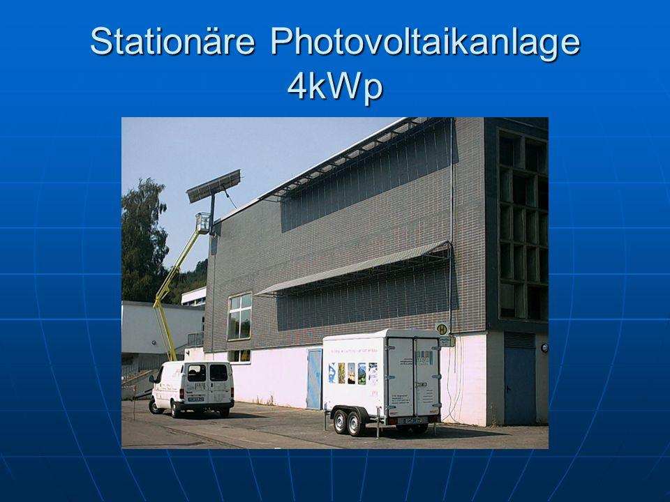 Stationäre Photovoltaikanlage 4kWp
