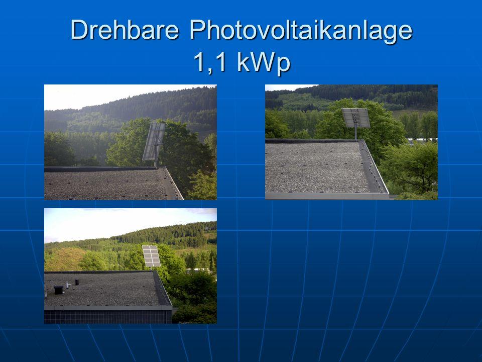 Drehbare Photovoltaikanlage 1,1 kWp