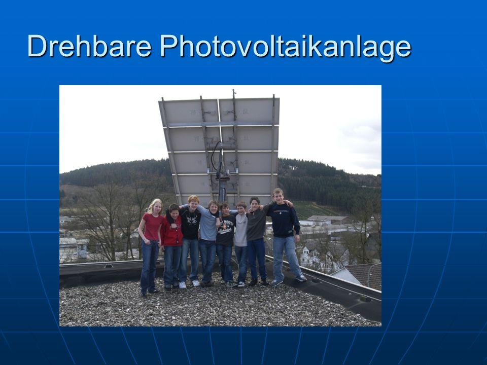 Drehbare Photovoltaikanlage