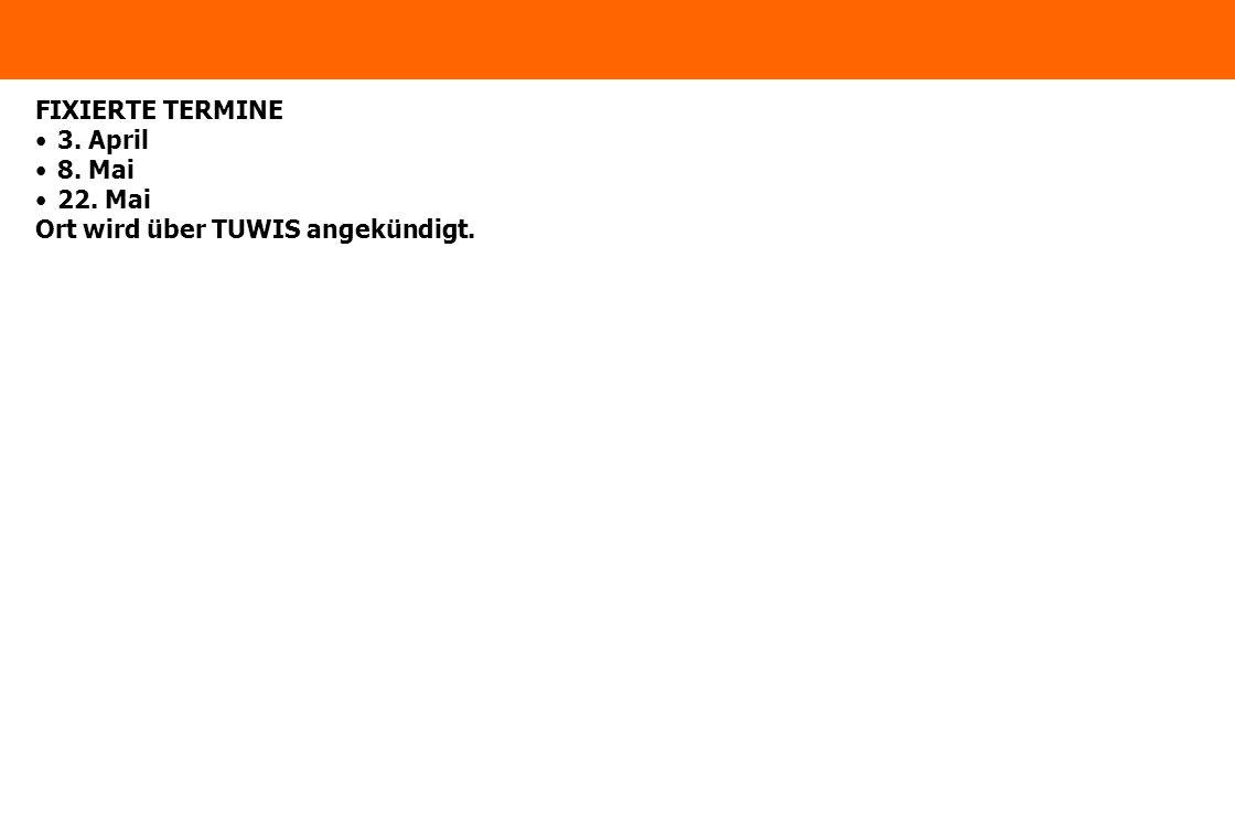 www.ximes.com Page 2 - 15-04-05 FIXIERTE TERMINE 3.