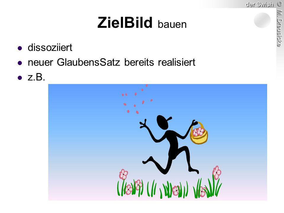 © M. Dreusicke der Swish ZielBild bauen dissoziiert neuer GlaubensSatz bereits realisiert z.B.