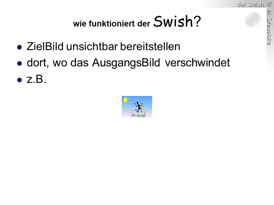 © M. Dreusicke der Swish wie funktioniert der Swish .