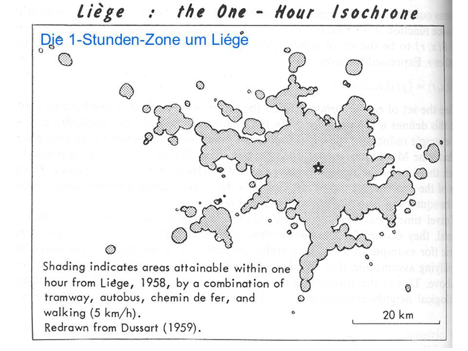 16 Die 1-Stunden-Zone um Liége