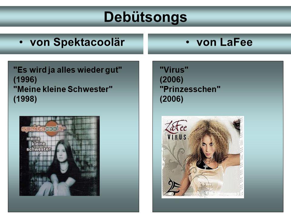 Diskografie von Spektacoolärvon LaFee Hörbeispiele Hörbeispiele (1998) HörbeispieleHörbeispiele (2000)HörbeispieleHörbeispiele (2000) HörbeispieleHörbeispiele (1999) HörbeispieleHörbeispiele (2009) (2007) HörbeispieleHörbeispiele (2006)HörbeispieleHörbeispiele (2007)