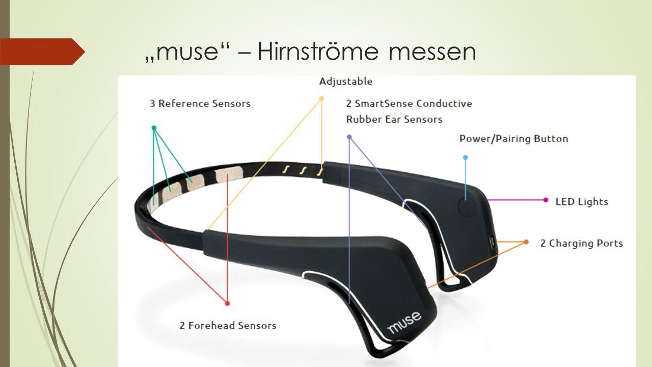 """muse"" – Hirnströme messen"