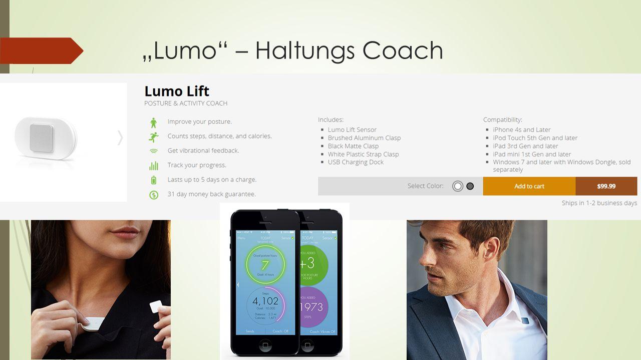 """Lumo"" – Haltungs Coach"