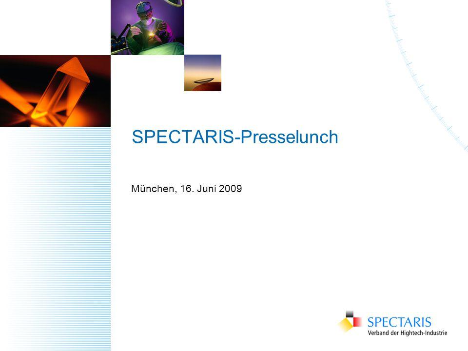 SPECTARIS-Presselunch München, 16. Juni 2009