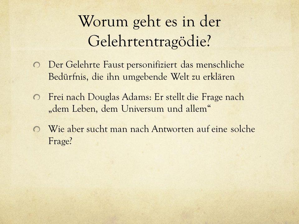 Faust, ein Renaissancegelehrter Faust lebte zeitgeschichtlich in der Epoche der so genannten Renaissance.