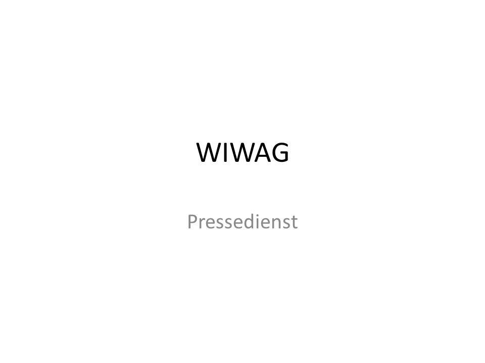 WIWAG Pressedienst