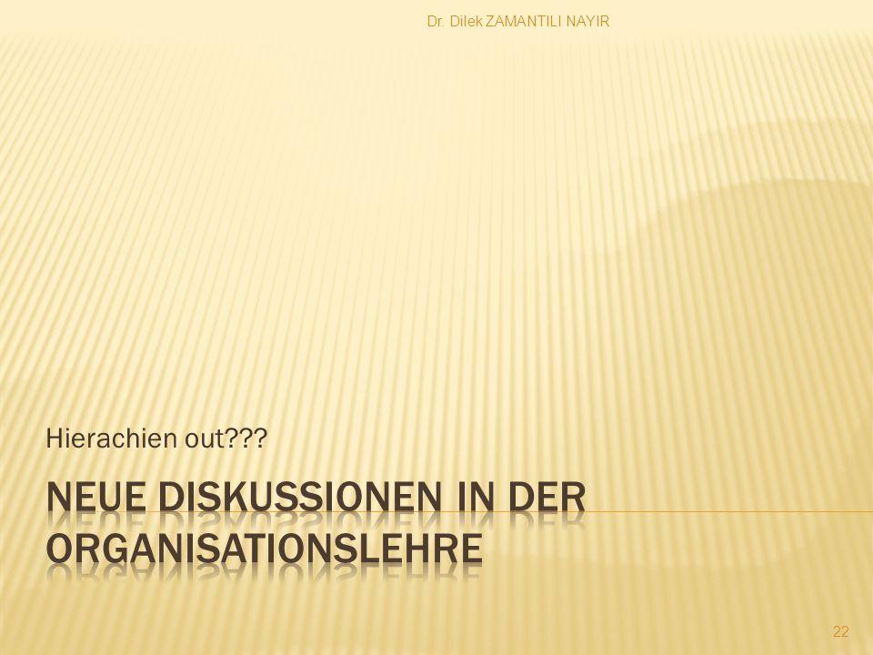 Dr. Dilek ZAMANTILI NAYIR 22 Hierachien out???
