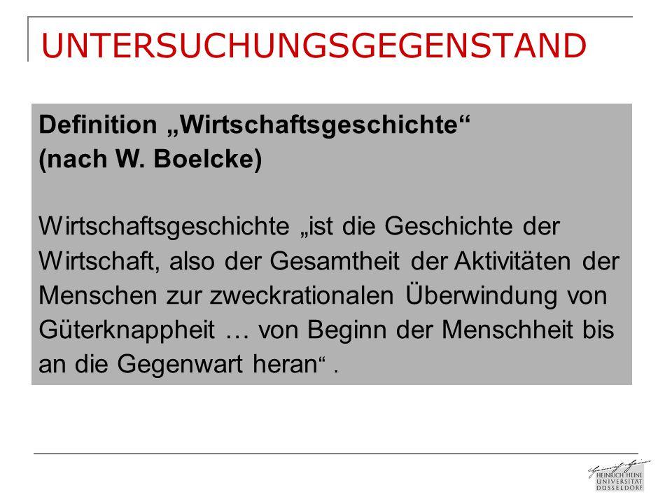 """UNTERSUCHUNGSGEGENSTAND """"Die Geschichte aller bisherigen Gesellschaften ist..."""