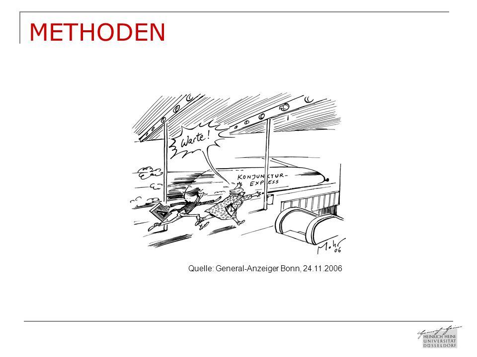 METHODEN Quelle: General-Anzeiger Bonn, 24.11.2006
