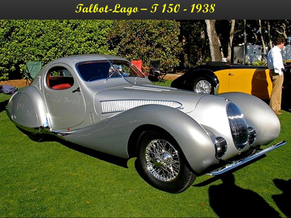 Talbot-Lago – T 23 C – Cabriolet - 1938