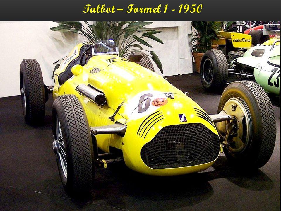 Talbot – T26 - Grand-Sport - 1950